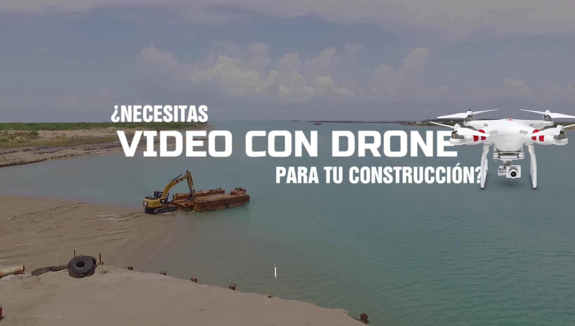 Video y Fotografía Aérea con Drone en Matamoros y Reynosa Tamaulipas